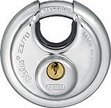 Abus - 23/70 70mm Diskus Vorhängeschloss Gleichschließend RR00390 - ABUKA45175