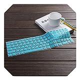 Notebook-Tastaturschutz für Lenovo Ideapad 310 15/510 15/110 15 17 Laptop, 15 Zoll Weiß/Blau