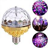 Suszian Rotierende Glühlampe der Disco-DJ-Stadiums-, LED-drehende Kristallkugel-Bunte magische...