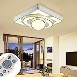 Deckenlampe LED Deckenleuchte 64W Wohnzimmer Lampe Modern Deckenleuchten Kueche Badezimmer Flur...