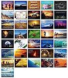 Clever Pool 36 Postkarten Lebensweisheiten Motivationskarten Coaching Material I Grußkarten Set...