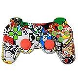 Morza Bluetooth Wireless Game-Controller Wireless-Joystick Gamepad für PS3 Videospiele Griff...