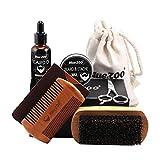 Bartpflegeset Ätherisches Öl für die Bartpflege für Männer 30 ml Bartpflegecreme 30g Shampoo...