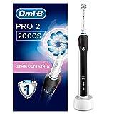 Oral-B PRO 2 2000S Elektrische Zahnbürste mit visueller Andruckkontrolle für extra...