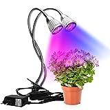 Energiesparendes Pflanzenlicht, Grow Light, EU-Stecker AC85-265V Mehrzweck für Zimmerpflanzen...