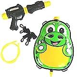 Funny Toys wasserkanone mit Tank 35,5 cm grün/schwarz 5-teilig