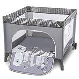 Lionelo Sofie Laufstall Laufstall Baby Baby Bett Reisebett Baby ab Geburt bis 15 kg Seiteneingang...