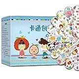 120 Stück Kinderpflaster Cartoon Bandagen Multi Pattern Klebebänder Selbsthaftend Wasserfestes...