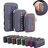 Eono by Amazon - Mikrofaser Handtücher, 8 Farben - kompakt, Ultra leicht & schnelltrocknend -...