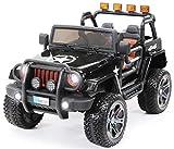 Actionbikes Motors Kinder Elektroauto Jeep Wrangler Offroad - 4x4 Allrad - USB - Sd Karte - 4 x 35...