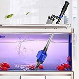 Elektrischer Aquarienreiniger, elektrischer Reiniger für Aquarien, automatische Saugung für den...