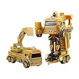 Gestenerkennung Fernbedienung 2-in-1-Bau Spielzeug Roboter Roboter Spielzeug für 3-10 Jahre alte...