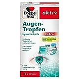 Doppelherz Augen-Tropfen Extra Hyaluron 0,4 % / Feuchtigkeitsspendende Augentropfen mit lindernder...