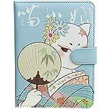 Wean 1 x Handbuch, Notizblock, weicher Einband, Kraftpapier, blanko, Skizzenblock, Spiralbuch, ideal...