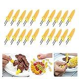 LANGING 6-teiliges Grillwerkzeug-Set Grill-Werkzeug-Set Grillzubehör Grillpinsel