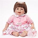 Reborn Babys 55 Cm Handgemacht Reborn Babys Mdchen Puppe Mit Haaren Zum Kmmen Puppe Baby Silikon...