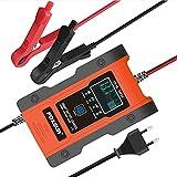 Ladegeräte Autobatterie, 12V/24V Batterieladegerät 6A/3A Auto Intelligentes Erhaltungsladegerät...