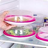 Küchenutensilien Edelstahlgriff Hitzebeständigkeit Rund Leakproof Silikondichtung Deckel,...