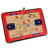 thelastplanet Basketball Taktiktafel Tragbar Trainer Taktikmappe Coachen Trainer- Mappe Basketball...