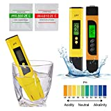 StepWorlf Digital elektrischer PH Tester + TDS/EC Meter hydroponischen Test-Feder-Stock-Grün TH1216
