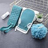 SCAYK Peeling-Handschuhe, Body-Exfoliator-Wäscher für Dusche oder Badewanne, tiefen...