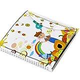 Walory Zeichenblock, Tragbare Löschbare Zeichenunterlage Wiederverwendbare Skizzenblock Malbuch 8X8...