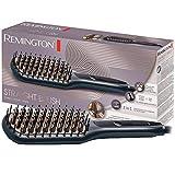 Remington Glättbürste 2in1: Glätteisen & Haarbürste für eine reduzierte Stylingzeit...