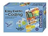 KOSMOS 620523 Easy Elektro - Coding. Arduino programmieren mit Scratch, Experimentierkasten für...