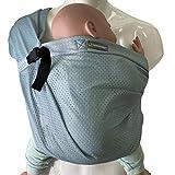 minimonkey Mini Sling | kleinste & leichteste Babytrage der Welt | Neugeborene bis max. 15 kg...