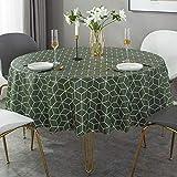 Ahuike Tischdecke Wasserabweisend Tischwäsche Pv Einfachheit Farbe und Größe Wählbar Hochwertig...