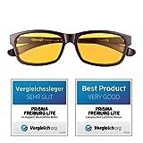 PRiSMA Blaulichtfilter-Brille FREiBURG - Blueblocker-Brille - Anti-Blaulicht - Computerbrille -...