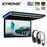 XTRONS 17,3 Digital TFT FHD 16:9 Bildschirm fr Auto Bus untersttzt 1080P Video Auto Overhead Player...