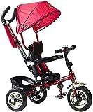 Baby Kinderwagen, Buggy, Tragbarer Kinderwagen Faltbares Dreirad, 3-in-1 Kinder Dreirad &...