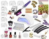 UV Gel Starterset Set, Nagelstudio Set, Anfängerset, Maniküre, Pediküre, UV Farbgele, UV...
