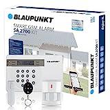 Blaupunkt Funk-Alarmanlage SA 2700 I Mit GSM-Modul I Sicherheitssystem mit Bewegungsmelder,...