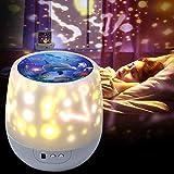 Sternenhimmel LED Projektor,Shayson Kinder Nachtlicht 360° Rotierend Projektionslampe...