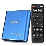 AGPTEK Mini 1080P Full HD Digital Mediaplayer Medienspieler mit Fernbedienung für MP3, WMA, OGG,...
