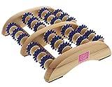 Massage Fußroller Kosmetex mit Kunststoffnoppen für Fussmassage zur Anregung der Fußreflexzonen
