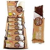 KULAU Organic Coconut Bar CHOCO 24 x 40g Riegel aus Kokosnuss, Kakao und Reissirup, bio, vegan,...