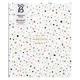 Groes Busy B Adressbuch  mit alphabetischem Register, Stickern & Steckfach