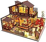 Isunday 3D Holz Puppenstuben Alte Stadt DIY Miniatur Modell Geburtstag Geschenke Spielzeug für...