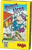 Haba 4092 - Rhino Hero, Spannendes 3-D-Stapelspiel für 2-5 Superhelden ab 5 Jahren, mit einfachen...