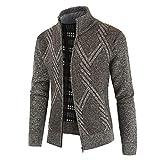 Aiserkly Winter Strickjacken Cardigan Sweater Jacke Herren Übergangsjacke Freizeitjacke Knitted...