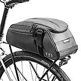 BAIGIO Gepäckträgertasche wasserdichte Fahrradtasche Hinterradtasche Gepäckträger Tasche...