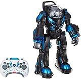 Jamara 410043 - Robot Spaceman Infrarot - Lautsprecher und Musik, LED-Beleuchtung, über...