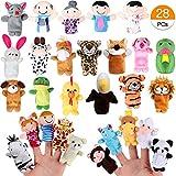 Joinfun Fingerpuppen Party Mitgebsel Cartoon Tier Hand Spielzeug Menschen Familienmitglieder fr...