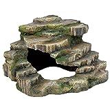 Trixie 76196 Eck-Fels mit Hhle und Plattform, 26  20  26 cm