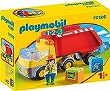 Playmobil 70126 1.2.3 Kipplaster, ab 18 Monaten, bunt, one Size