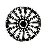 Petex LeMans Pro. 2-fach lackiert. Material: ABS. Farbe: Schwarz. 16' Zoll. (4 x Universal...