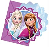 Procos 46787 86919 - Einladungskarten mit Umschlägen Frozen Northern Lights, 6 Stück,...